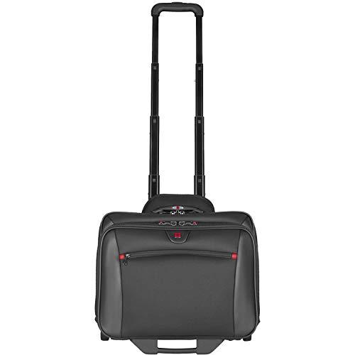 """Wenger 600661 - Maletín con compartimento acolchado para portátiles de 17"""" , Negro ( )"""