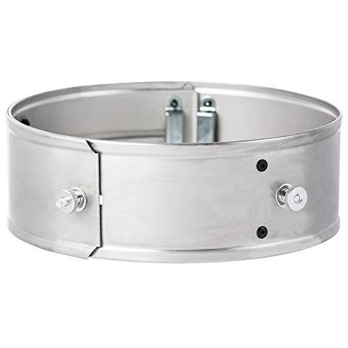 BBQ-Toro Power Ring für Raketenofen, Edelstahl, Ø 25-35 x 8,5 cm
