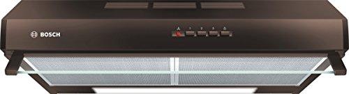 Bosch DUL63CC40 Serie 4 Unterbauhaube / D / 60 cm / Braun / wahlweise Umluft- oder Abluftbetrieb / Drucktastenschalter / Intensivstufe / Metallfettfilter (spülmaschinengeeignet)