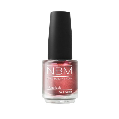 NBM Nagellack Nr. 58 red glamour 14 ml