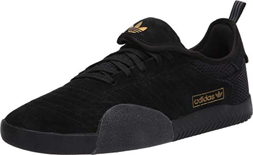 adidas Skateboarding 3ST-003 Core Black/Footwear White/Gold Metallic 9.5