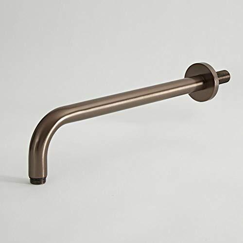 Hudson Reed Elizabeth Braccio Doccia per Soffioni - Design Tradizionale da Parete - Ottone Solido Bronzo Brunito