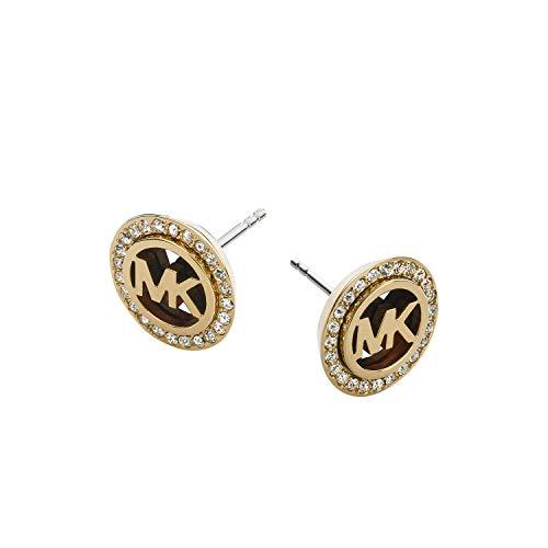 Michael Kors Tone Gold Stud Earrings