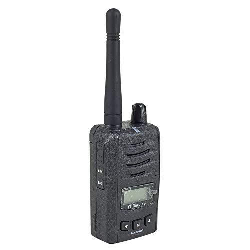 Albrecht Tragbares PMR-Radio Tectalk Duro XS, 1200 mAh, Doppeluhr