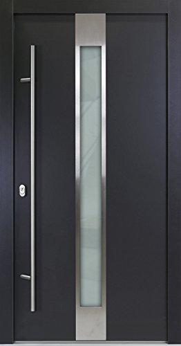 Alu Haustür 05, anthrazit, nach innen öffnend, DIN rechts (von innen), 1000x2000