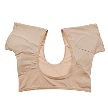 SUPVOX Breathable Sweat Guard Underwear Vest Underarm Sweat Vest Washable Sweat Shield Vest for Women Girls Ladies