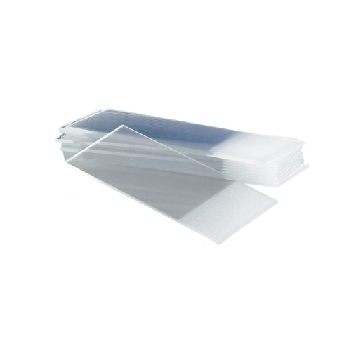 Corning 2948-75X25 Soda Lime Glass Microscope Slide, Frosted at One End on Only One Sides, 75mm Length x 25mm Width x 0.90-1.10mm Thick (20 Boxes of Approx. 72 each)