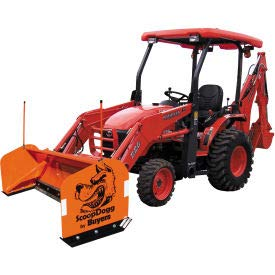 Buyers Products Compact Tractor Snow Pusher 10'...
