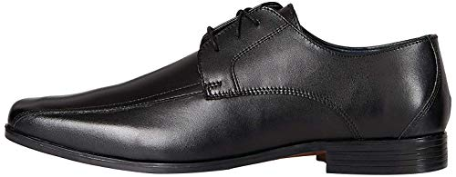 find. Arlo_hs01, Scarpe stringate derby Uomo, Nero (Polished Black Polished Black), 41 EU