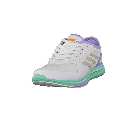 adidas Stellasport Damen Fitnessschuhe/Trainingsschuhe Yvori Runner Weiss (100) 411/3EU