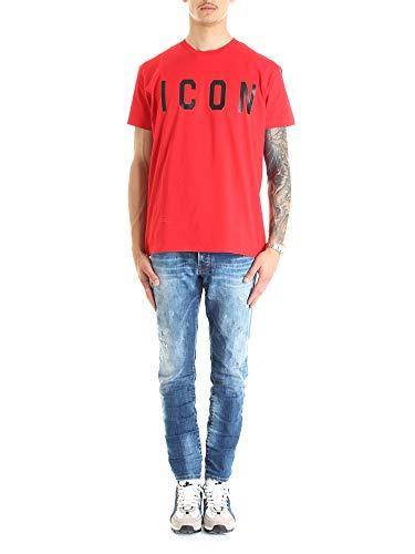 Dsquared2 Heren t-shirt Nero