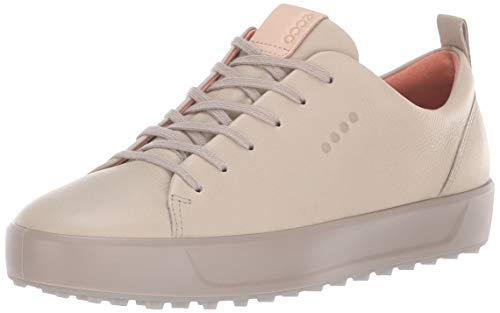 ECCO Women's Soft Low Hydromax Golf Shoe, oyester, 41 M EU (10-10.5 US)