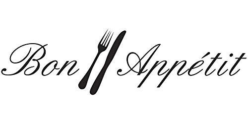 Wandtattoo Küche - Bon Appetit
