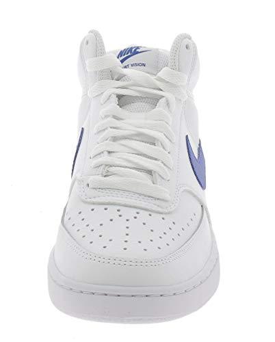 NIKE Court Vision Mid Zapatos Deportivos para Hombre Blanco CD5466103