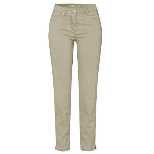 Toni Dress Damen 7/8-Jeans Perfect Shape Zip Light Khaki - 48