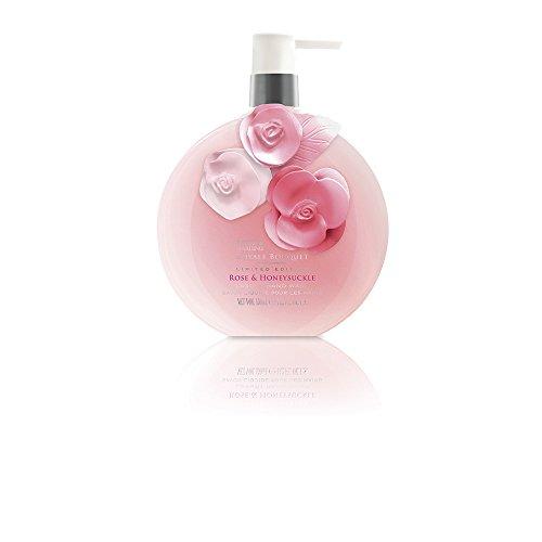Baylis & Harding PLC Royale Bouquet Rose/Chèvrefeuille 450 ml Lavage à Main Paquet de 4