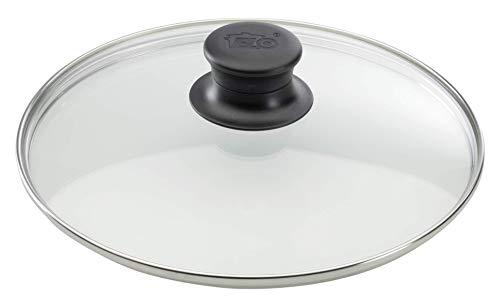 ELO 64129 Glasdeckel / 28 cm / Glas / Edelstahl