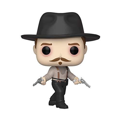 Funko POP! Movies: Tombstone #856 - Doc Holliday Stand Off Exclusive - Bundled with Free PET Compatible .5mm Extra Rigged Protector