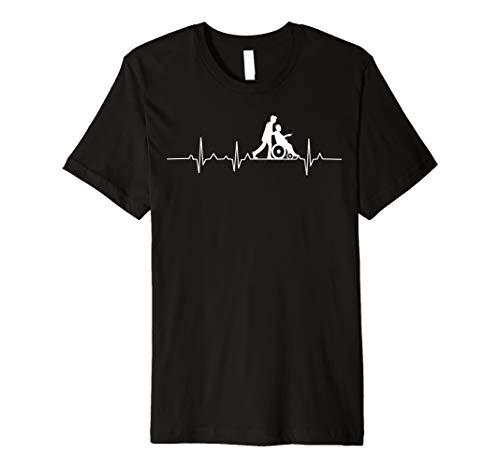 Herren Altenpfleger T Shirt EKG I Altenpflegehelfer T-Shirt I