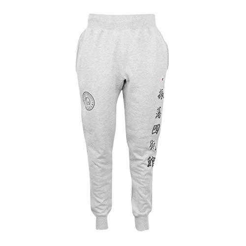 Bruce Lee JKD Origins Champion Jogger Pants in Grey, Size Medium
