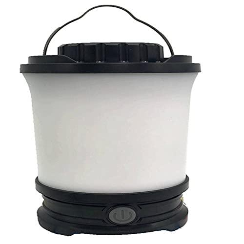 Farolillos de camping eléctrico de LED portátil recargable por USB de alta calidad IP65, batería de litio ultra tenente, luz portátil para la pesca