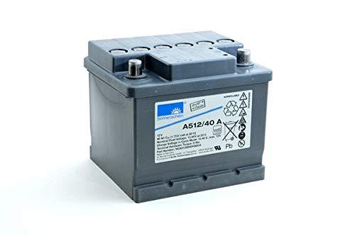 GNB Sonnenschein A500 - Batería Plomo sellada Gel A512/40A 12V 40Ah Auto