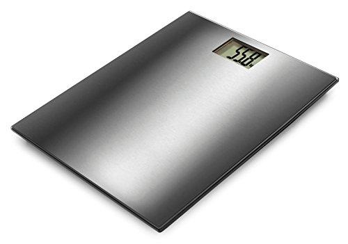 Lacor 61740–Bilancia da bagno in acciaio inox, 180kg