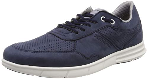 LLOYD Herren Ashley X-Motion Sneaker, Blau (Ocean/Grau/Grey 8), 41 EU