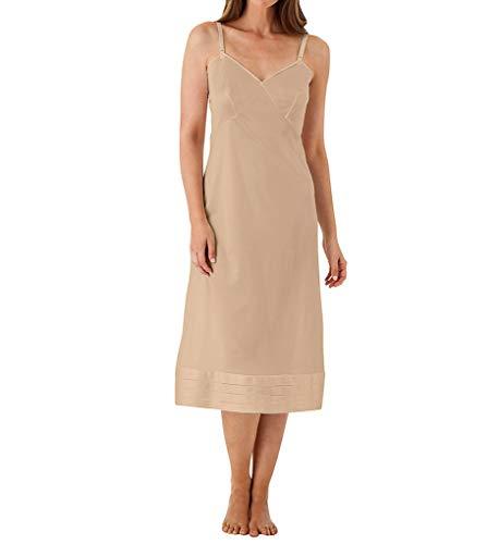 Shadowline Women's Plus Size Adjustable Length Full Slip 6319 40 Nude