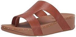 Light Tan Marli Slide Sandal