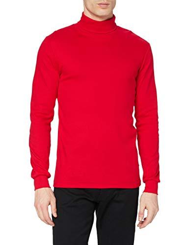 Trigema 685010 Top de Sport, Rouge (Cerise), L Homme