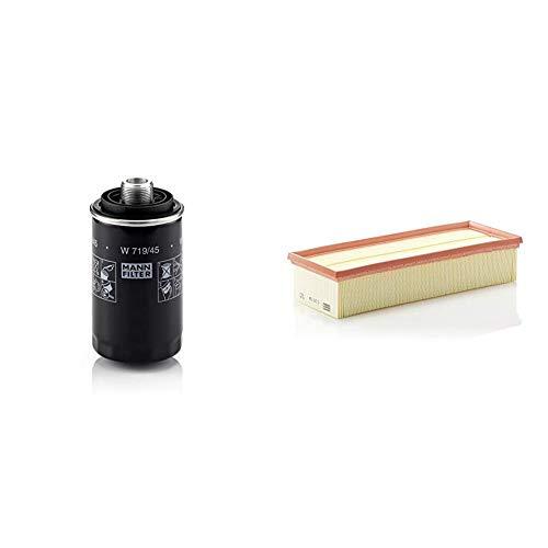Original MANN-FILTER Ölfilter W 719/45 – Für PKW & Luftfilter C 35 154 - Für PKW