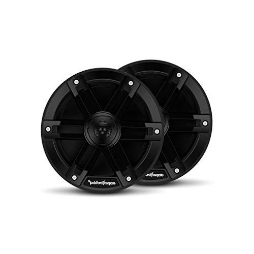 Rockford Fosgate M0-65B Marine Grade 6.5' Full Range Speakers - Black (Pair)