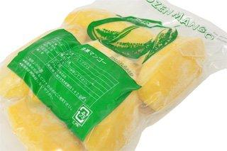 【冷凍】 マンゴー ハーフ 「ナムドクマイ種」 1kg