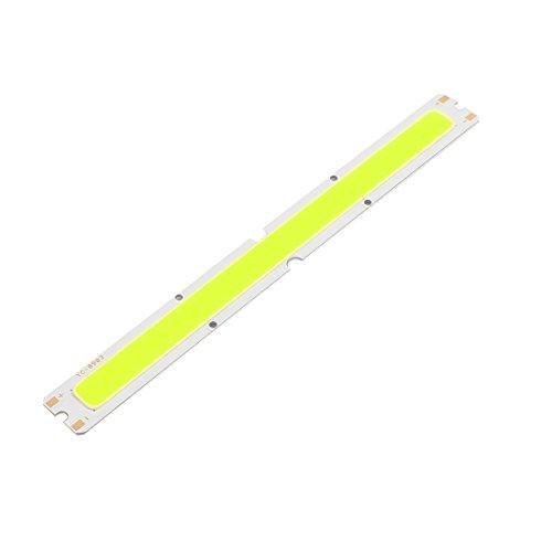 Aexit DC 21-24V 7W 100mmx15mm COB LED Lámpara de alta potencia (model: N1432VIX-1971OS) Chip Blanco puro