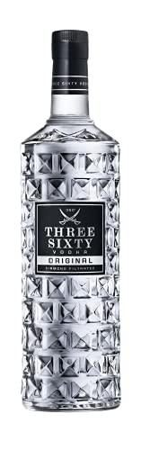 Three Sixty Vodka Original 3 Liter (37,5%-VOL) Große Flasche (1x3L)
