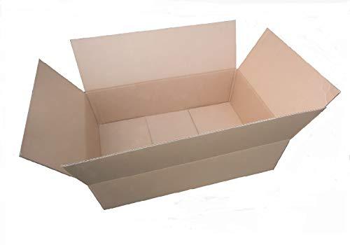 25 Stück Großbrief Kartons DIN A5 230x160x20 mm  Faltkartons braun 25x Karton