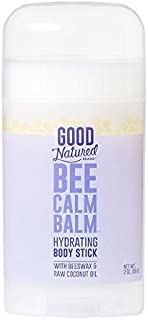 Good Natured Brand Bee Calm Balm Hydrating Body Stick with Beeswax & Raw Coconut Oil - 2oz - All-Natural, Moisturizing and...