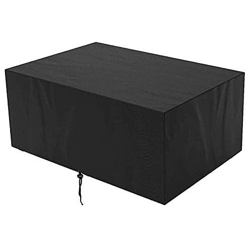 DKLE Fundas para Muebles de Jardín, Funda Impermeable para Exteriores Funda Protectora para Muebles 420D Oxford Resistente al Polvo para Sofá de Jardín, Exterior, Mesa Sillas