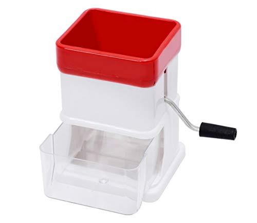Máquina trituradora manual multifuncional trituradora de hielo de acero inoxidable trituradora herramienta de cocina para verduras de frutas carne