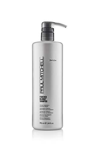 Paul Mitchell Forever Blonde Shampoo - Shampoo für blondes Haar ohne Sulfate, Hair-Care für aufgehelltes Haar und blonde Highlights, 710 ml