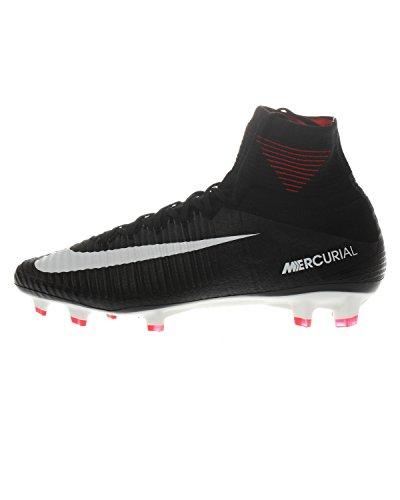 Nike Herren Mercurial Superfly V DF FG Fußballschuhe, Schwarz (Black/White/dk Grey/univ Red), 41 EU