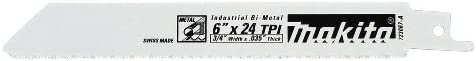 lowest Makita 723067-A-5 6-Inch 24-TPI online sale outlet online sale Metal Cutting Reciprocating Saw Blade (5-Pack) online