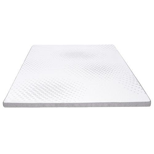 Milliard Memory Foam Mattress Topper, Gel Cool Foam, 2 Inch, UK Small Double