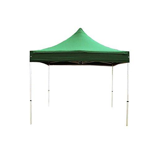 TOOLPORT Tente Pliante Barnum Pliant pavillon 3x3 m sans bâche de côté en Polyester imperméable Tente de réception Vert