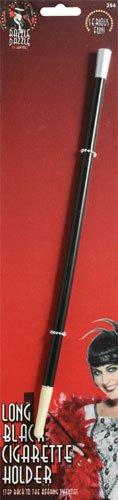 Smiffys Porte-cigarettes style années 20, noir
