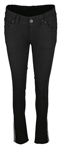 Blue Monkey Damen Jeans Laura Größe 2632 Schwarz (schwarz)