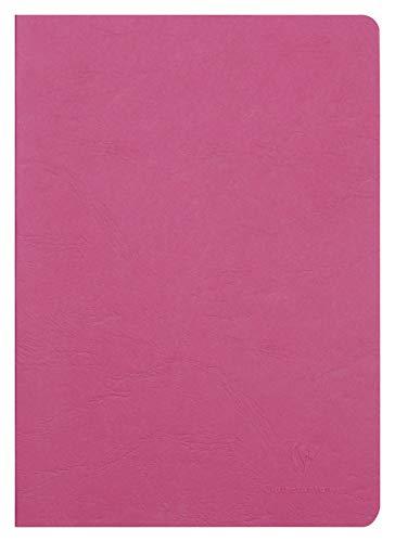 Clairefontaine 733002C Heft AgeBag (DIN A4, 21 x 29,7 cm, blanko, ideal für Ihre Notizen und Zeichnungen, 48 Blatt) 1 Stück rot