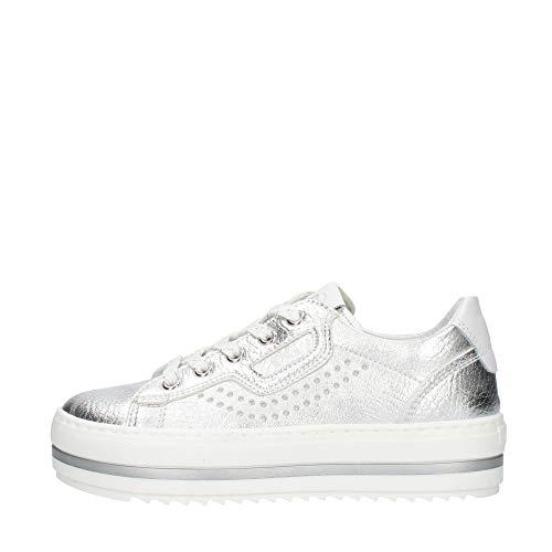 Nero giardini jr T Tarsia Sneaker Argento Da Bambino E031560F-726