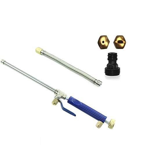 ZQSM Portable high Pressure Water Gun for Cleaning, for Car Wash, Garden,Window Washing. (Blue)